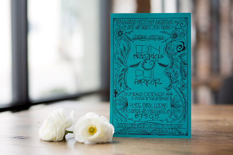 Mexicana Classic - Wedding Invitation Suite