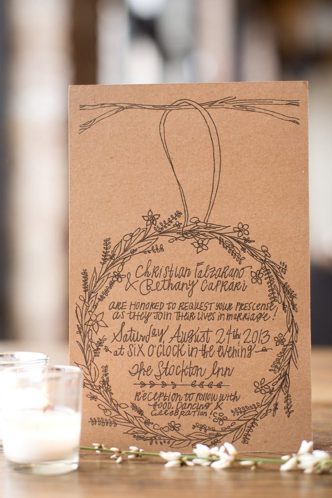Sweet Wreath - Classic Invitation Suite