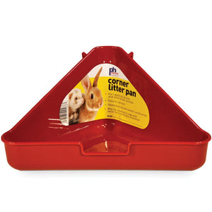 Prevue Corner Litter Pan for Rabbits and Ferrets