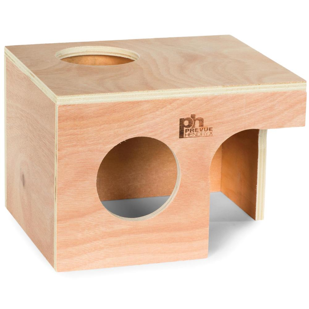Prevue Wooden Hut for Hamster, Rat or Guinea Pig