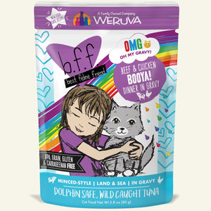 Weruva BFF Oh My Gravy! Cat Food (Wet) - Beef & Chicken Booya!