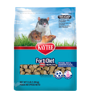 Kaytee Forti-Diet Pro Health - Mouse, Rat & Hamster