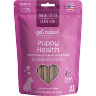 NPIC Get Naked Dental Chew Sticks - Puppy Health