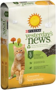 Yesterday's News Recycled Newspaper Cat Litter Pellets