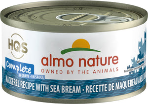 Almo Nature HQS Complete Cat Food (Wet) - Mackerel with Sea Bream