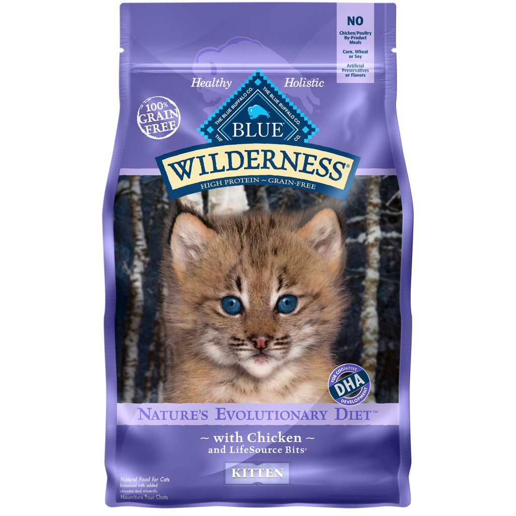 Blue Wilderness Grain Free Cat Food (Dry) - Kitten