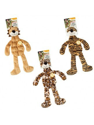 "SPOT Skinneez 18"" Tons-O-Squeakers Jungle Cat"