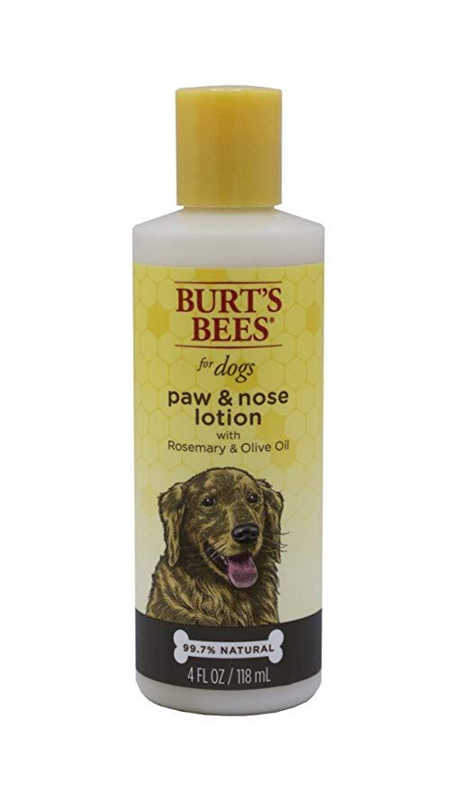 Burt's Bees for Pets Paw and Nose Lotion with Rosemary & Olive Oil