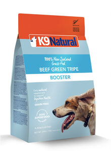 K9 Natural Freeze Dried Raw Dog Booster - Beef Green Tripe