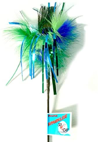 "Go Cat 36"" Feather Sparklers"