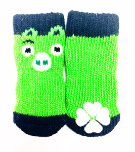 Angry Birds Green Pig Sock