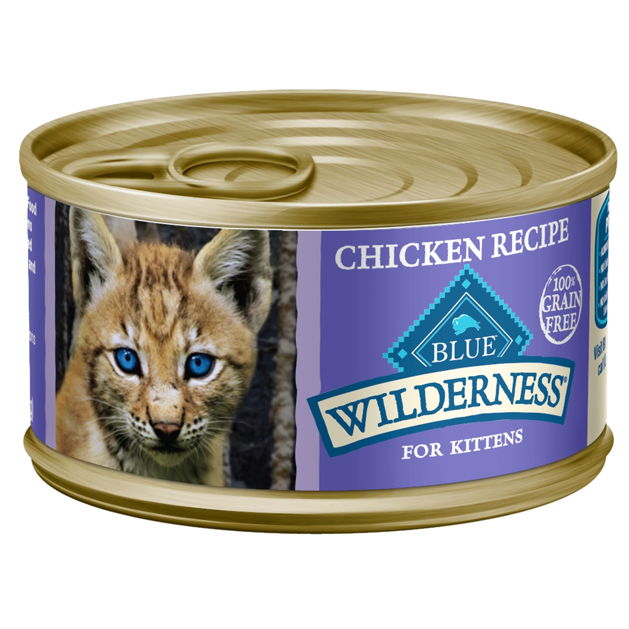 Blue Wilderness Cat Food (Wet) - Kitten