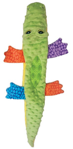 "SPOT Plush Nubbins 18"" Crocodile Plush with Rubber Teething Toy"