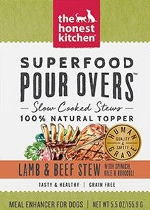 Honest Kitchen Superfood Pour Overs - Lamb and Beef Slow-Cooked Stew