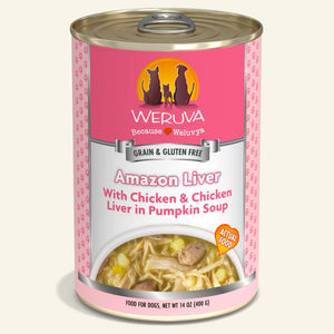 Weruva Grain Free Canned Dog Food - Amazon Liver