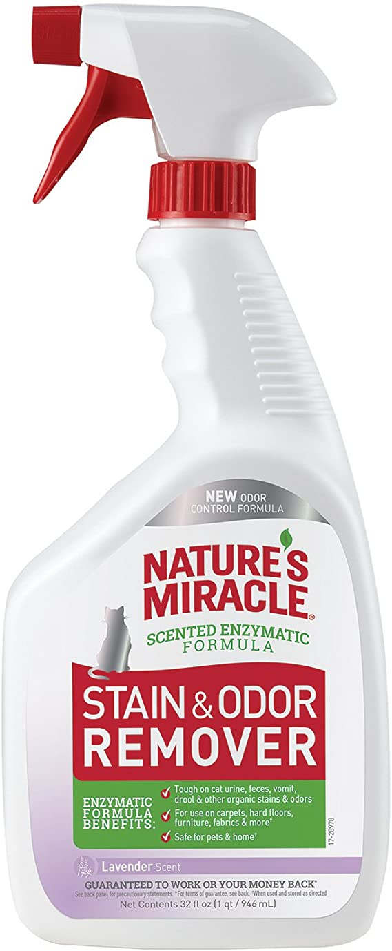 Nature's Miracle Just for Cats! Stain & Odour Remover - Lavender