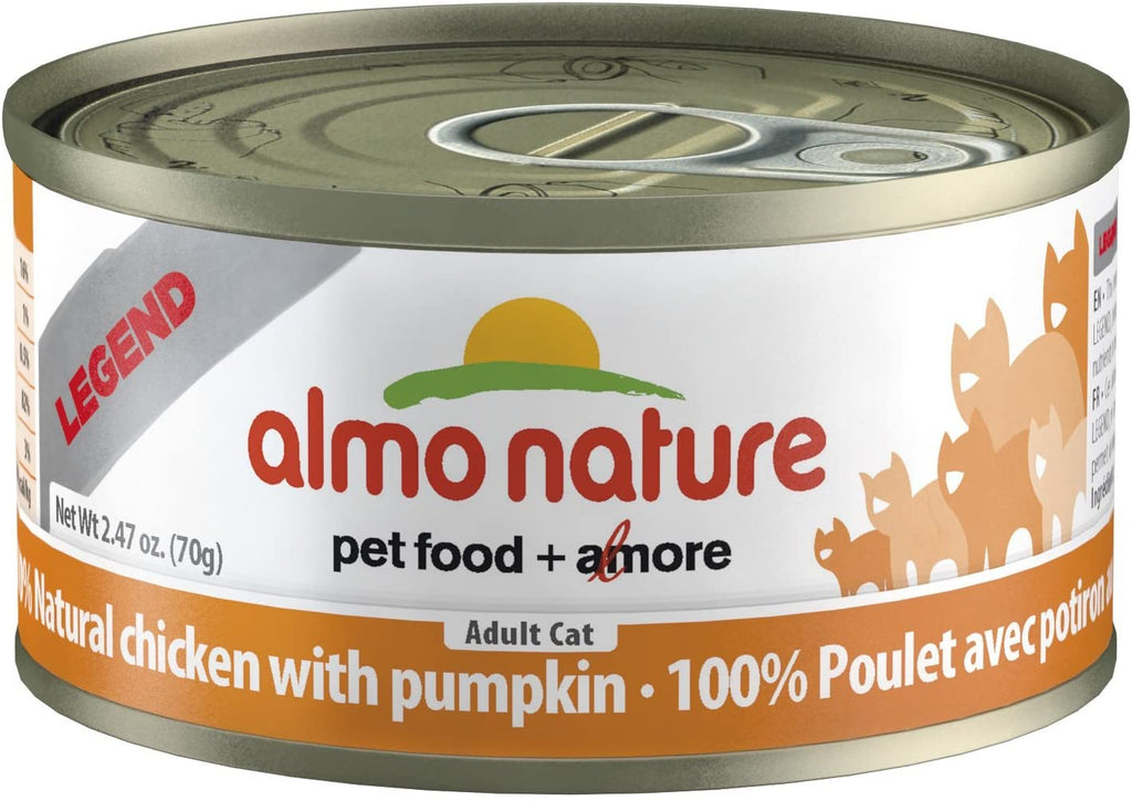 Almo Nature HQS Natural Cat Food (Wet) - Chicken with Pumpkin in Broth