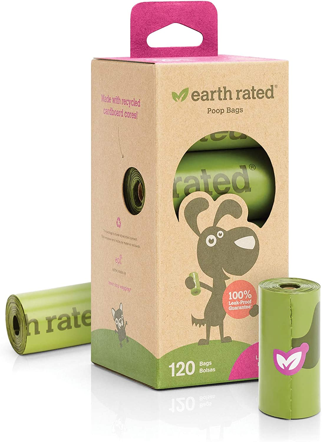 Earth Rated Poop Bag Refill Rolls
