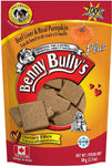 Benny Bullys Beef Liver Plus Pumpkin Dog Treats