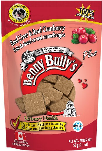 Benny Bullys Beef Liver Plus Cranberry Dog Treats
