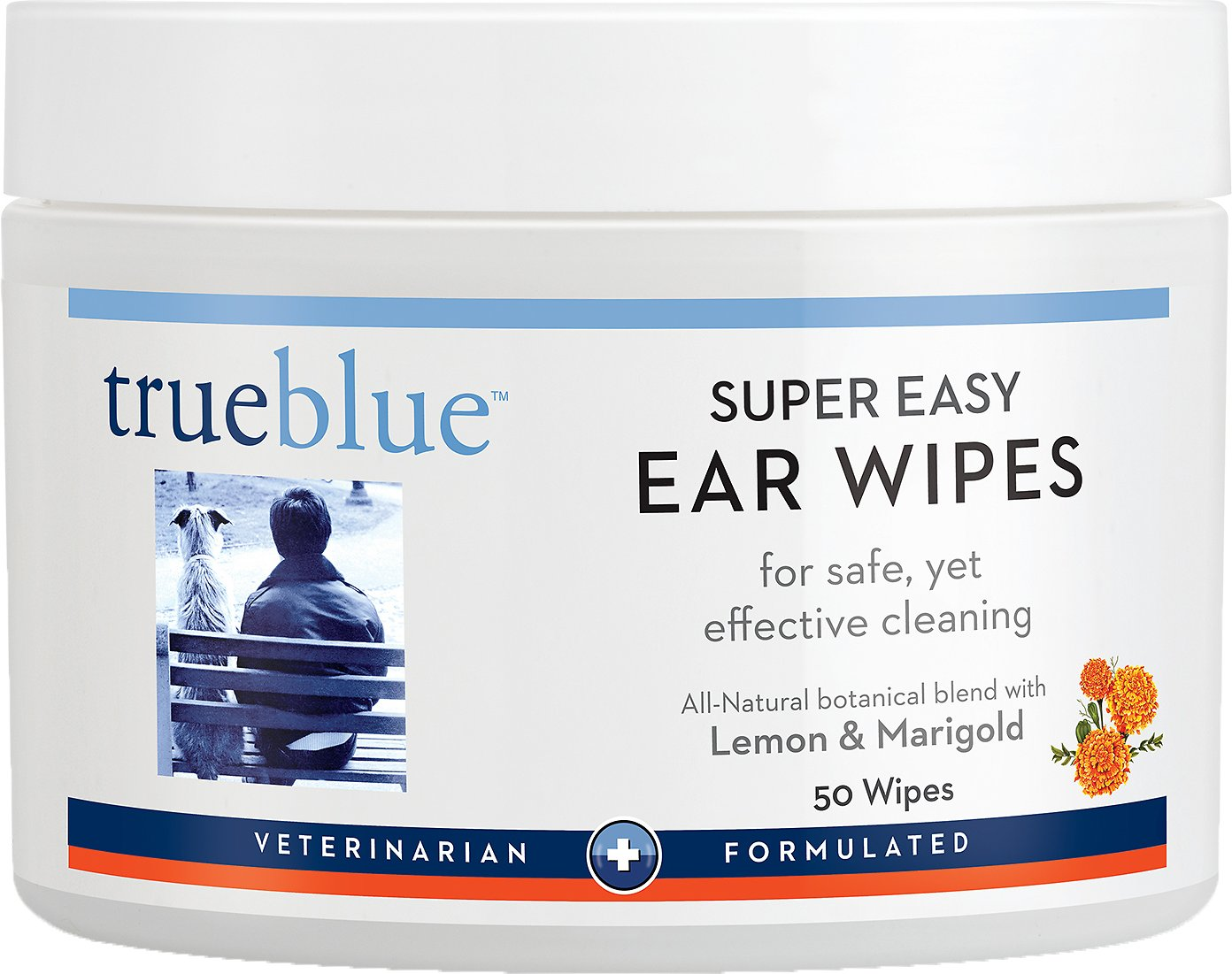 Trueblue Super Easy Ear Wipes - Lemon and Marigold