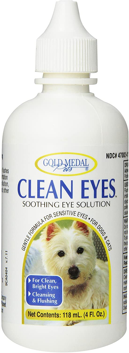 Clean Eyes Soothing Eye Solution for Dogs & Cats