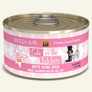 Weruva Cats in the Kitchen Cat Food (Wet) - Kitty Gone Wild Salmon