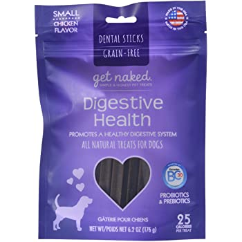 NPIC Get Naked Dental Chew Sticks - Digestive Health