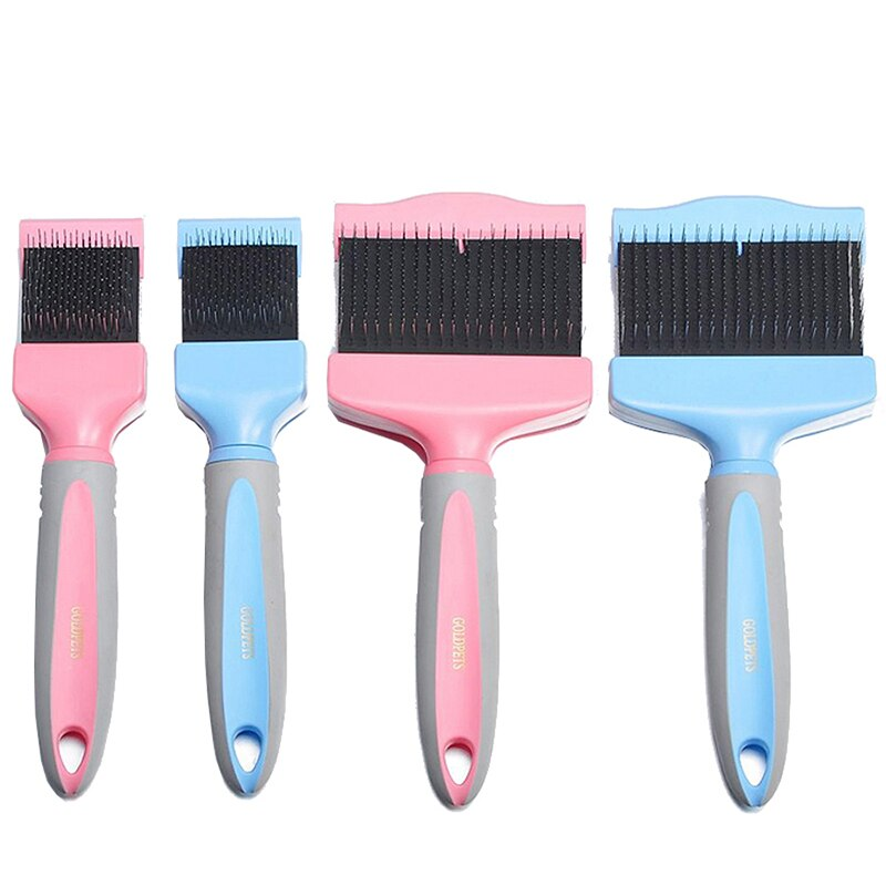 GOLDPETS Double Sided Premium Slicker Brush