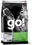 GO! Sensitivity + Shine Cat Food (Dry) - Freshwater Trout + Salmon