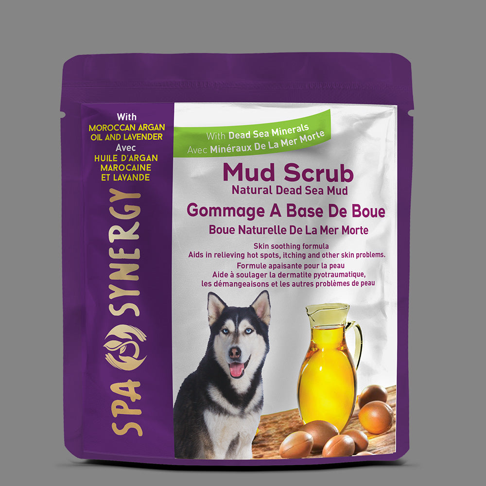 Spa Synergy Mud Scrub with Dead Sea Minerals