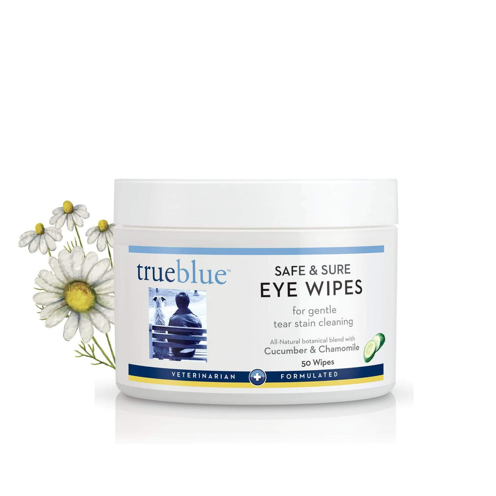 Trueblue Safe and Sure Eye Wipes - Chamomile and Cucumber