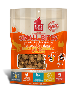 Plato Small Bites Meaty Morsels - Organic Chicken