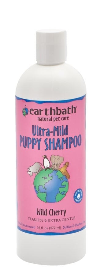 Earthbath Natural Shampoo for Puppies - Ultra-Mild Cherry