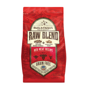 Stella and Chewy's Raw Blend Kibble for Dogs - Red Meat