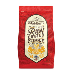 Stella and Chewy's Oven Baked Raw Coated Kibble for Dogs - Cage Free Chicken
