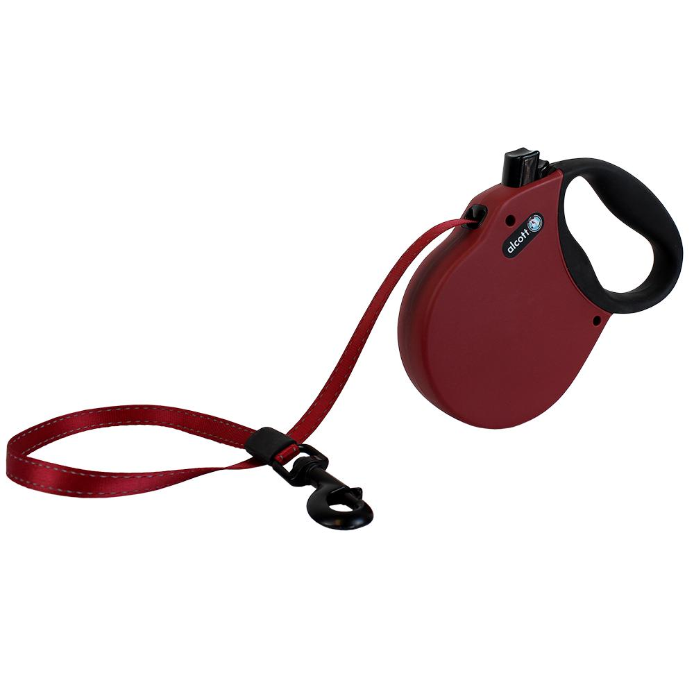 Alcott Adventure Retractable Leash with Reflective Belt