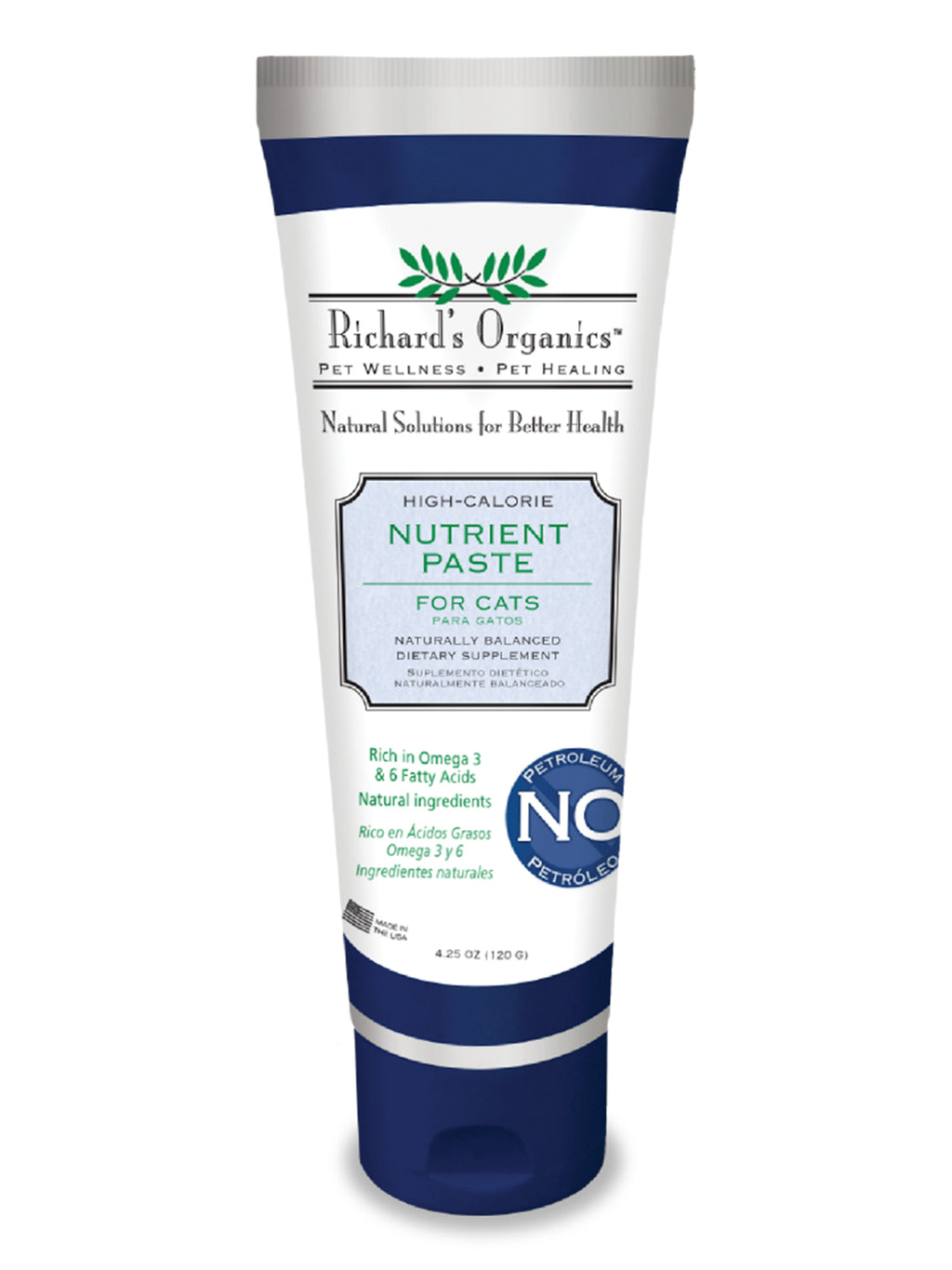 Richard's Organics High Calorie Nutrient Paste for Cats