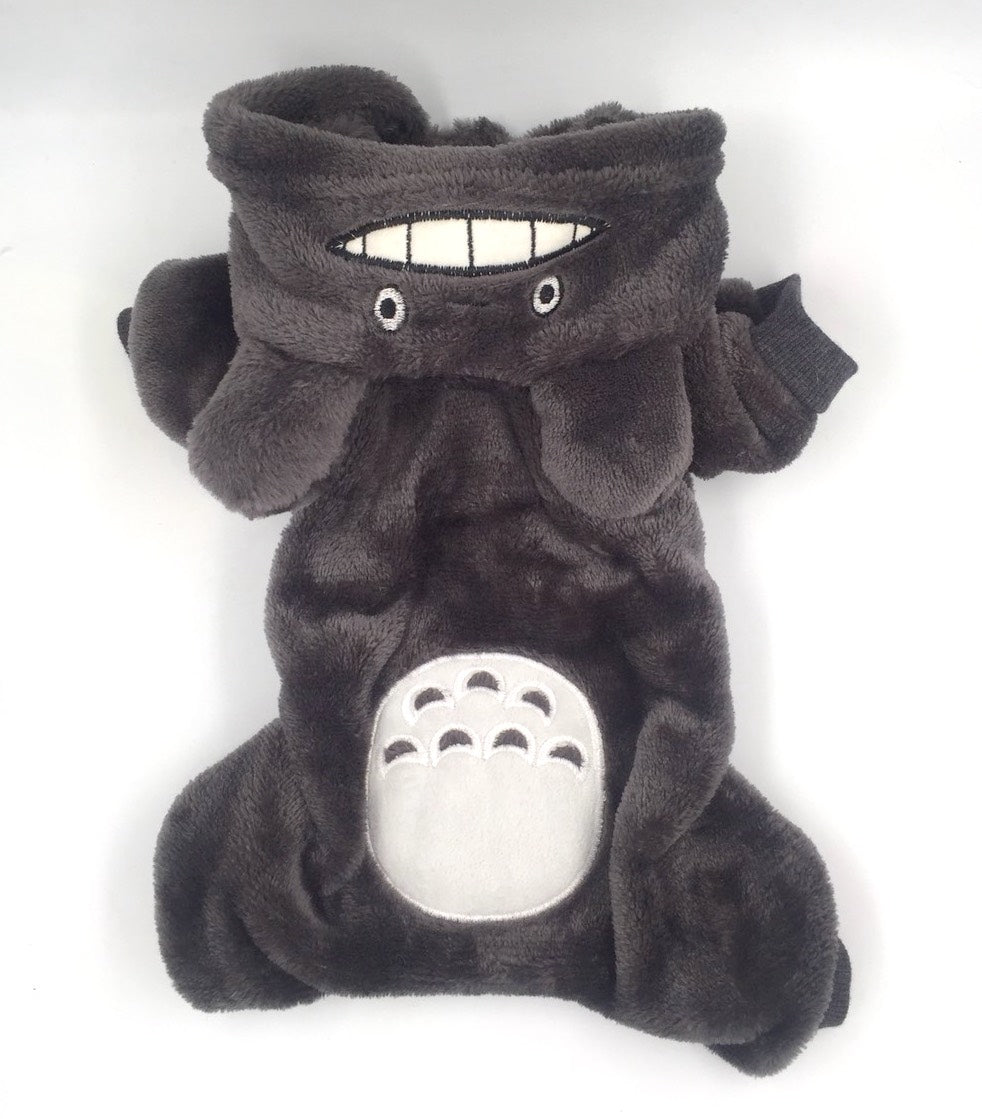Totoro Costume Onesie - Big Dog Sizes Available!