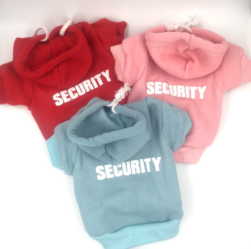Tough Dog Security Hoodie - Also Available in 'BOSS'
