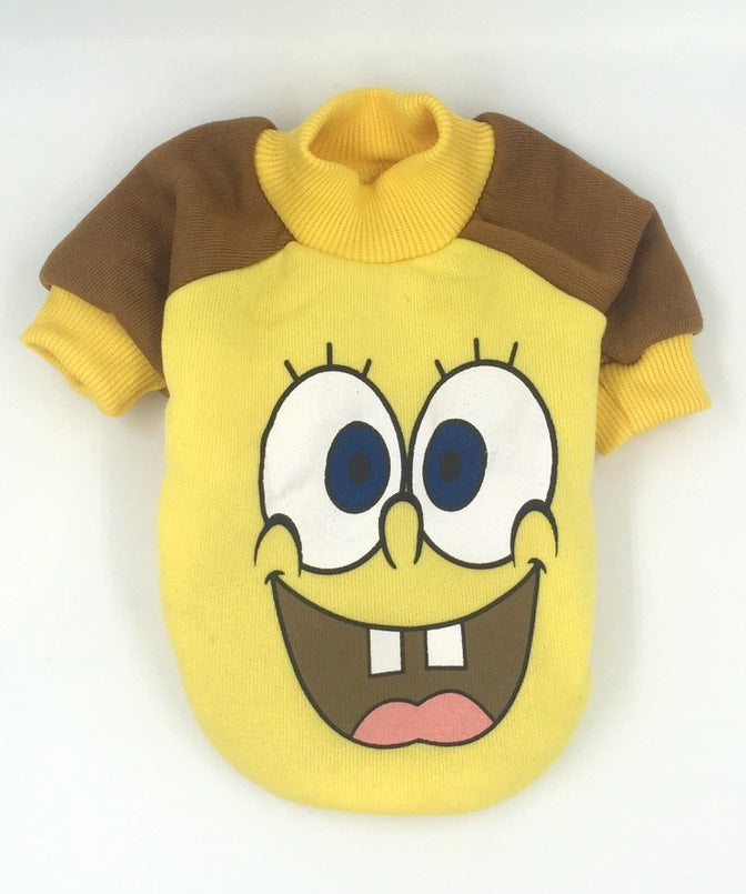 Cartoon Crew Neck with Contrast Sleeves