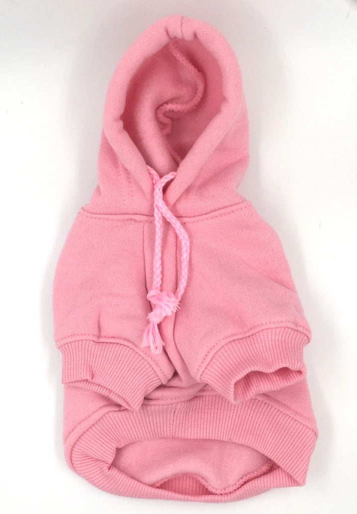 Plain & Basic Candy-Coloured Hoodie