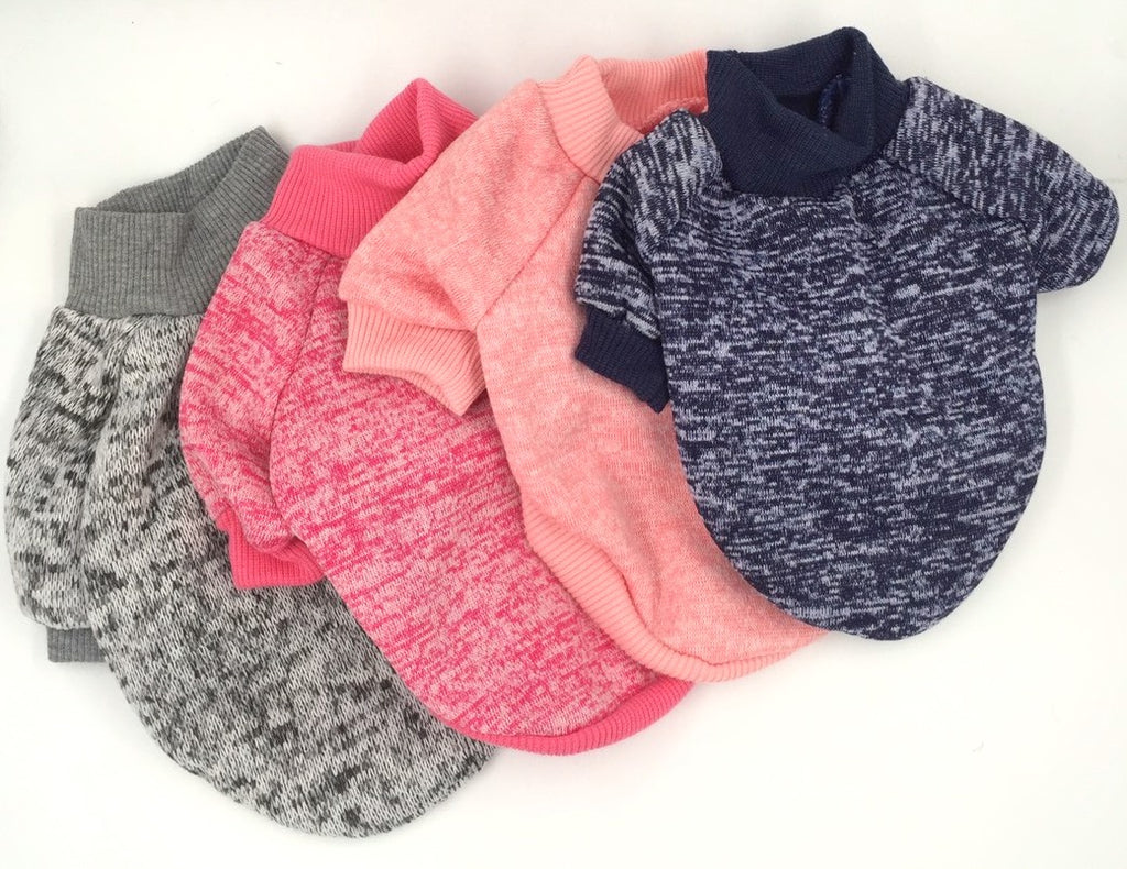 Heathered Crew Neck Sweater