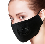 Face Mask with Pocket & Valve