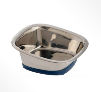 OurPets Stainless Steel Square Bowl