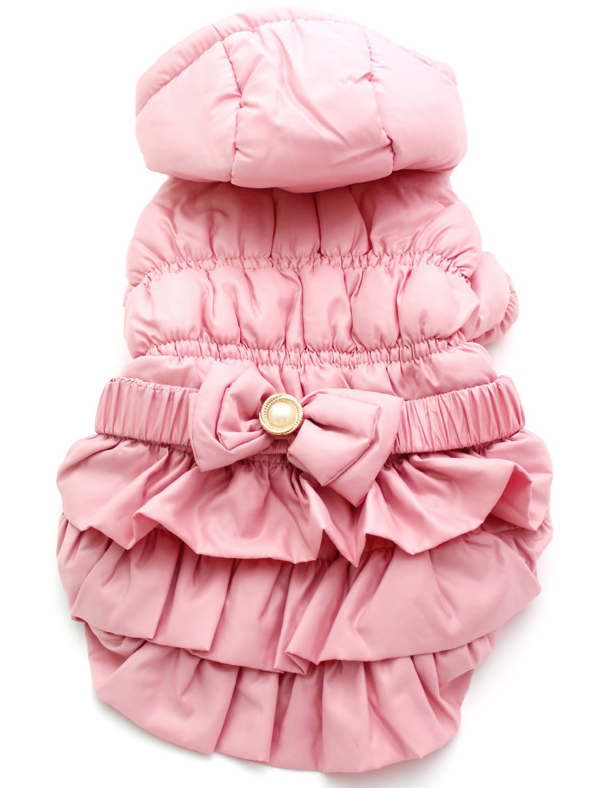 Princess Parka with Skirt and Pearl Belt