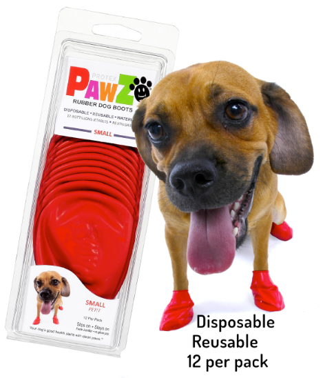 PawZ Rubber Dog Booties