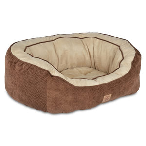 SnooZZy Daydreamer Chevron Bed in Chocolate or Grey