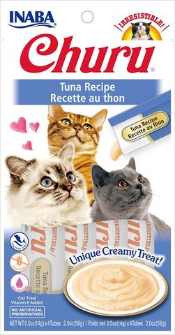 Inaba Churu Puree Cat Treats - Tuna Recipe