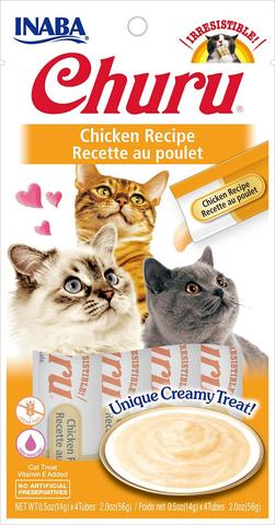 Inaba Churu Puree Cat Treats - Chicken Recipe